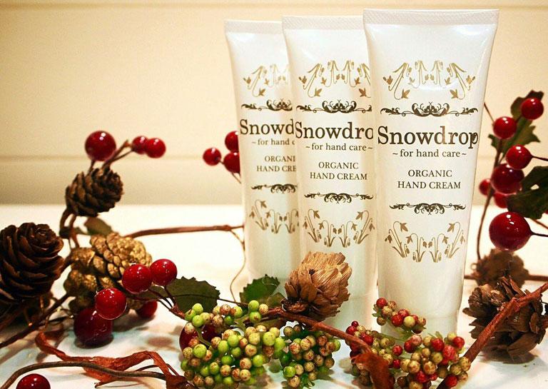 Snowdrop オリジナル オーガニックハンドクリーム ~ベルガモットの香り~