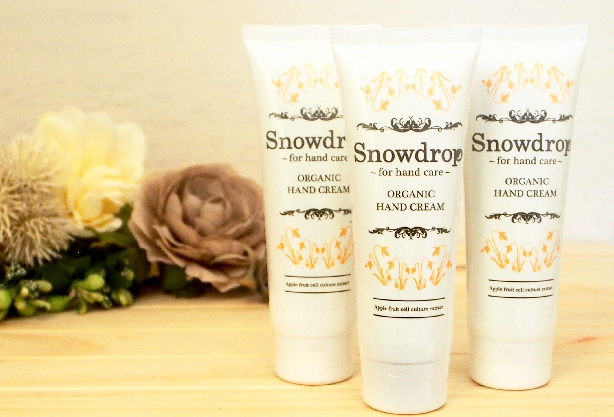 Snowdrop オリジナル オーガニックハンドクリーム ~ミンティーオレンジの香り~