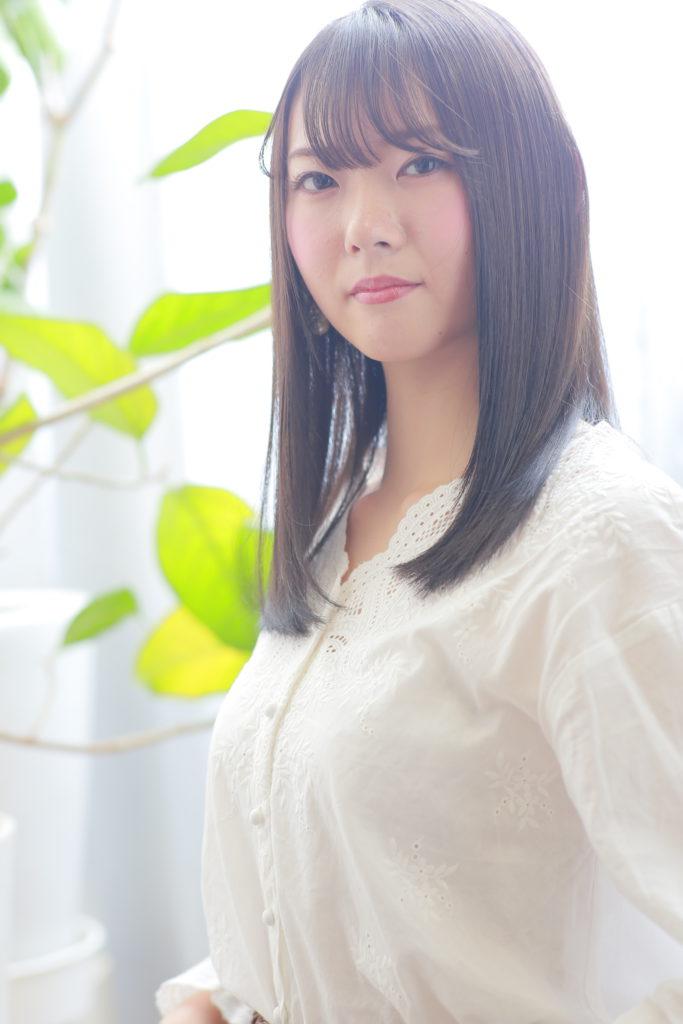 艶髪ワンカール×3Dカラー×シースルーバング